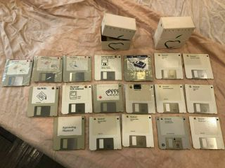 Vintage Apple Macintosh Mac 512k Mac - Se Disks Diskettes