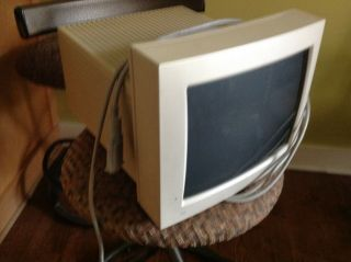 "Vtg 1992 Apple Macintosh 12 "" Rgb Color Monitor Display M1299 Power Only"