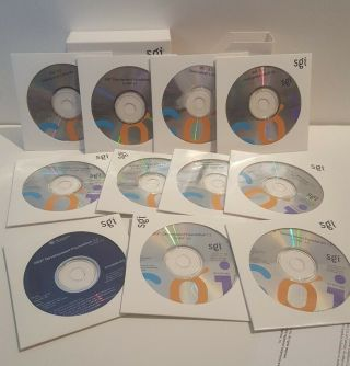 Silicon Graphics Sgi Software Library Set For Irix Software.  11 Cds