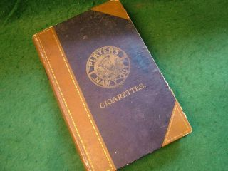 Large Vintage Players Navy Cut Cigarette Box In The Form Of A Book