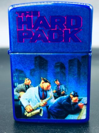Zippo 1993 The Hard Rock Pack Camel Promo Lighter - Double Sided (very Rare)