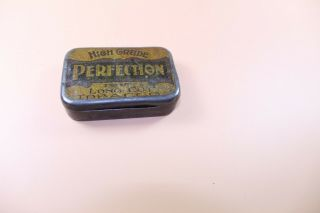 Vintage Perfection Tobacco Tin As Pictures Very Old