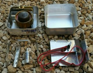 Vintage Optimus 199 Ranger Backpacking Camp Stove - Made In Sweden