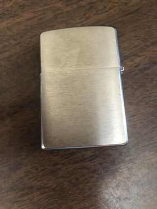 Vintage Zippo Lighter 14 Hole Windscreen J 08 Bradford Pa,  Made In Usa