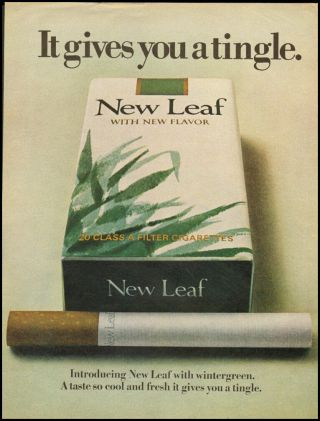 1970 Vintage Ad For Leaf Cigarettes (011613)