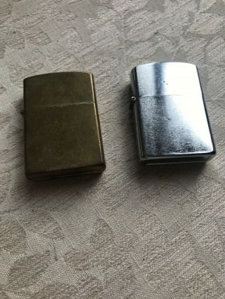 Mistral Petrol Lighter And One Other