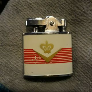 Vintage Symbol Lighter W/ Kent Castle Logo On It - Good Shape -