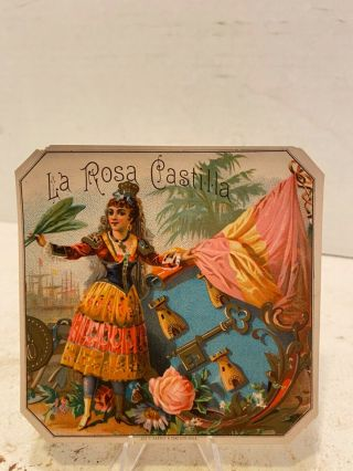 La Rosa Castilla Sample Cigar Label