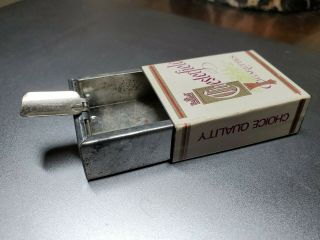 Vintage Chesterfield Pocket Ashtray,  Marked Hong Kong