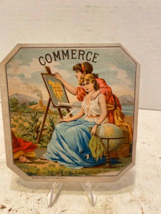 Commerce Sample Cigar Label