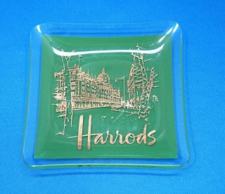 Vintage Harrods Ashtray From London,  4 3/8 Inches