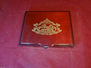 Perez Carrillo La Historia Dona Elena Wood Cigar Box