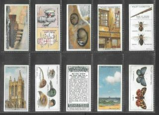 Wills 1922 Interesting (knowledge) Full 50 Card Set  Do You Know 1st