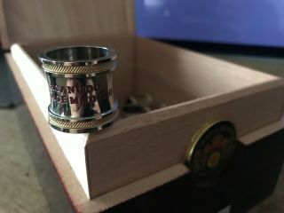 Macanudo Vintage Maduro Cabinet Selection 1997 Metal Cigar Band Ring