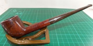 "Good Looks/condition/grain "" City De Luxe "" Medium Smooth Billiard Pipe From "" Gbd """