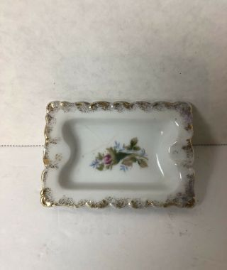 Vintage Decorative Small Ashtray Bond Ware Crown L& M