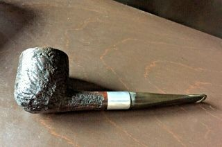 Pipe Tobacciana Mil??? Sandblasting Covered Name Well Made