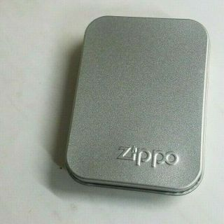 Zippo Lighter Metal Case Empty Box With Papers Earnhardt Signature Upc