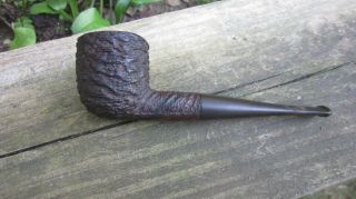 """Vottis Rustic Pipe,  Made In France,  Algerian Briar - 5 1/2 """" Long - With Chip"""