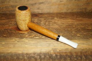 Vtg Irvin S Cobb H&b Washington Mo Corn Cob Tobacco Smoking Estate Pipe