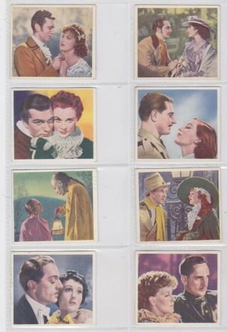 Godfrey Phillips Set: Famous Love Scenes 1939