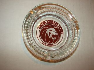 Vintage Ashtray Mgm Grand Hotel Las Vegas Lion