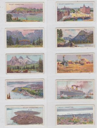 Wills Set: Overseas Dominions (canada) 1914
