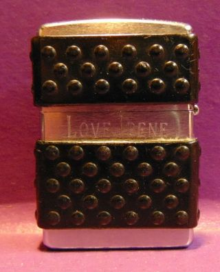 Vintage Zippo Xv Cigarette Lighter Personalized Engraved Bradford Pa Usa