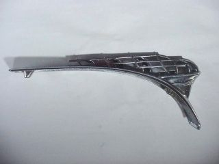 """Auto Hood Ornament: 1950 Plymouth Special Deluxe / Coupe 13 - 1/4 """" Long"""