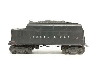 Vintage Lionel Postwar 2466wx Tender W/whistle O Gauge - / Read