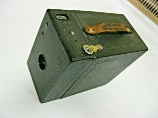 No.  2a Hawkeye Special Box Camera With Morocco Finish
