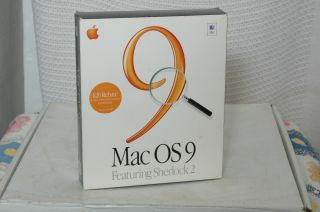 Vintage Mac Os 9.  0 Cd Software For Macintosh Computers Boxed