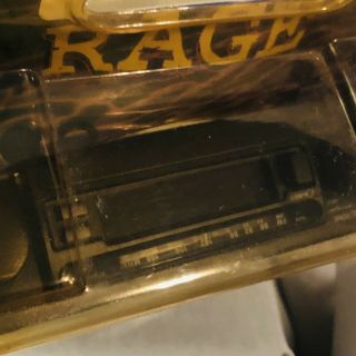 Vintage Rage Am/fm Car Stereo Cassette Player - Old Stock