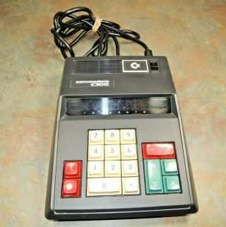 Vtg 1973 Commodore C108 Electronic Desk Calculator 4 Functions 8 Digit Display