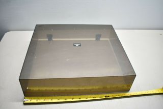 Vintage Smoke / Amber Rs Realistic Lab 100 Turntable Part: Dust Cover Only