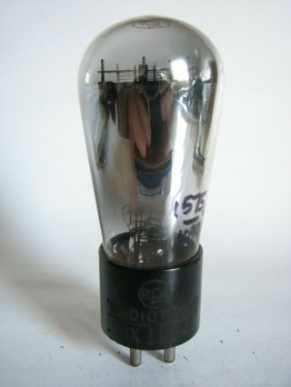 1930s Rca Ux - 112a (12a) Balloon/globe Audio Power Triode Tube - Hickok 539b Tests