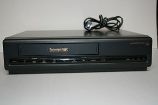 Panasonic Omnivision Vcr Vhs Player Pv - 2201 No Remote For Playback Only