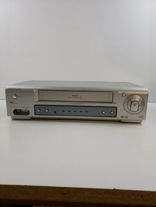 Philips Magnavox Mvr430mg21 4 - Head Vhs Bcr Video Cassette Recorder
