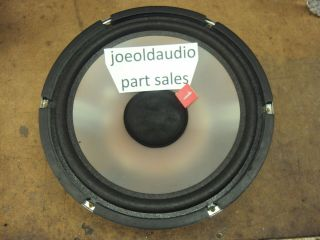 Acoustic Studio Monitor Series 3311 Woofer 8 Ohm.  Parting Out 3311.