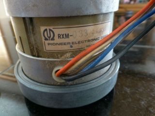 Pioneer Rt - 707 Reel To Reel Deck Capstan Motor Out Of Hardly Use Deck