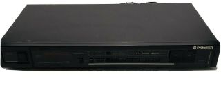 Pioneer Tx - 970 Stereo Fm/am Digital Synthesized Tuner And