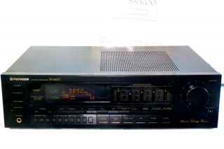 , Pioneer Stereo Receiver W/graphic Equalizer Sx - 2600 - Guaranteed