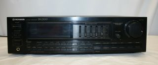 Pioneer Sx - 2300 Am Fm Stereo Receiver W/5 Band Eq 60 Wpc