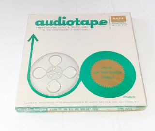 Blank Audiotape Audio Devices 1200 Ft.  Recording Tape Reel Special Low Print