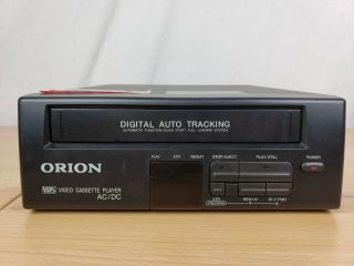 Orion Vp0060 4 Head Hifi Vhs Player (and Great)