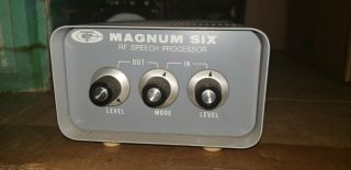Magnum Six Rf Speech Processor (for Collins 32s And Kwm - 2 Series)