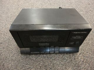 Realistic Radio Shack Scp - 31 Stereo Cassette Tape Player