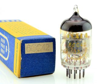 1970 Tesla 6cc42 (5670 396a 2c51) Vacuum Tube 100,  Perfectly Matched Triodes