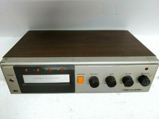 Realistic Stereo 8 Track Player Model 14 - 943 And