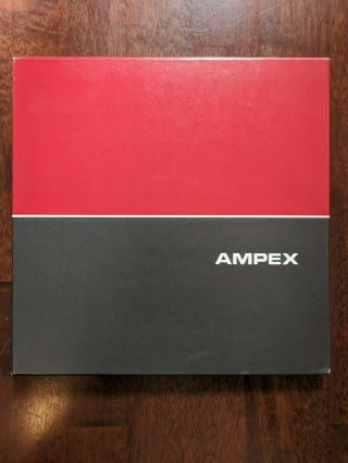 """Ampex Professional Audio 10 1/2 """" Reel To Reel 1/4 """" Magnetic Tape Old Stock"""